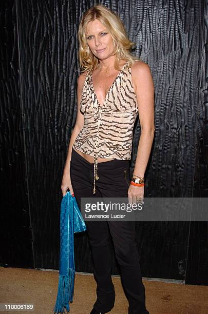 Patti Hansen during Olympus Fashion Week Fall 2005 The Heart Truth Red Dress Collection After Party at Cain in New York City New York United States