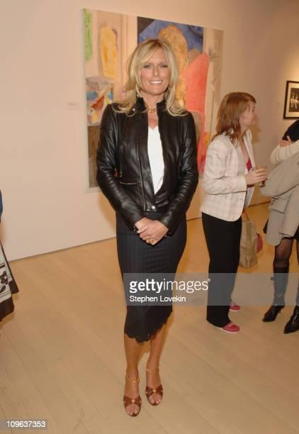 Patti Hansen during Salvatore Ferragamo Hosts Event to Inaugurate The Origin Mother and Child Art Exhibit