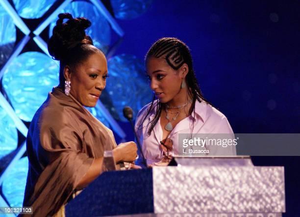 Patti Labelle and Alicia Keys