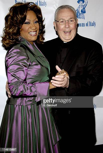 Patti LaBelle and BroAnthony E D'Adamo CFC during Boys' Towns of Italy Ball of the Year Gala Celebrating Patti LaBelle at Pierre Hotel in New York...