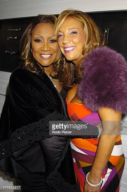 Patti LaBelle and Denise Rich during Patti LaBelle's Announcement of Her Reflections All Star Tribute Concert at Jacob The Jewelers Store in New York...