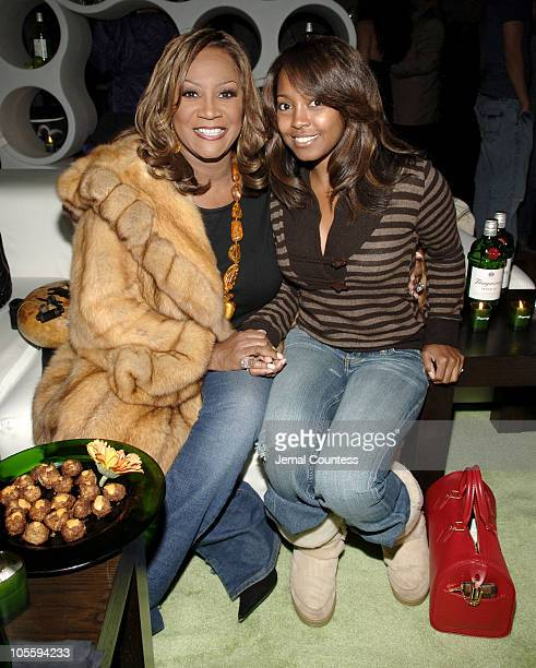Patti LaBelle and Keshia Knight Pulliam during Tanqueray Presents Mike Epps On the Edge Comedy Tour KickOff Party at The Newspace in New York City...