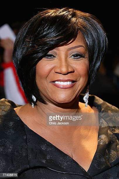 Patti LaBelle arrives at the Swarovski Fashion Rocks concert at the Royal Albert Hall on October 18 2007 in London England