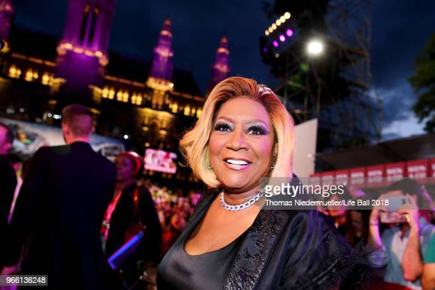 Patti LaBelle arrives for the Life Ball 2018 at City Hall on June 2 2018 in Vienna Austria The Life Ball an annual charity event raising funds for...
