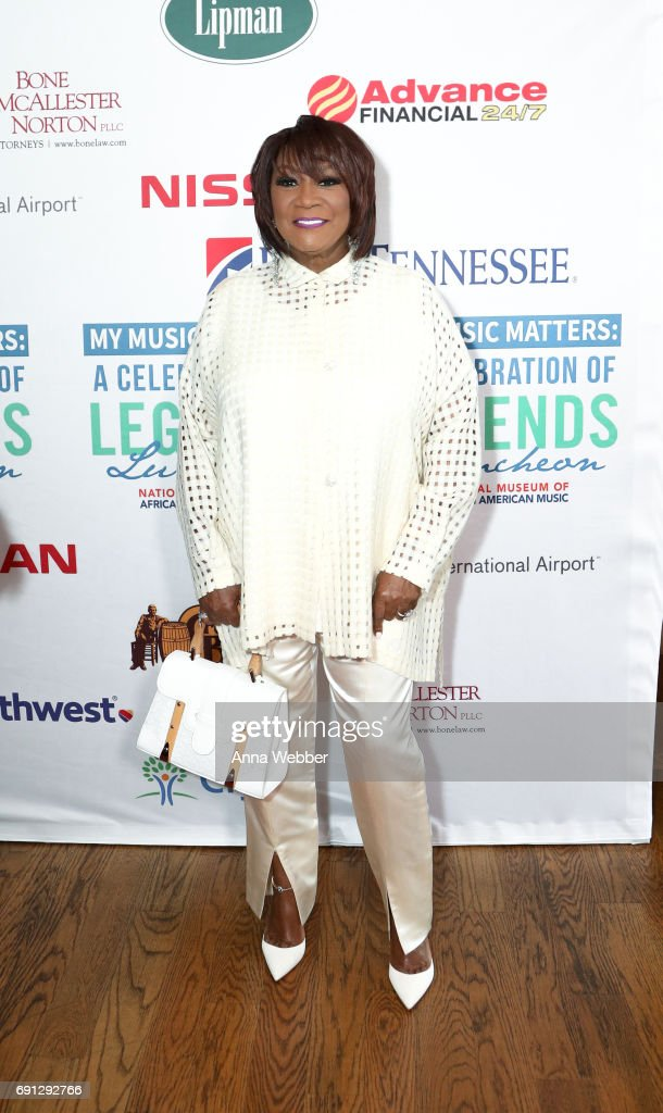 Patti LaBelle arrives to the 4th Annual My Music Matters: A Celebration Of Legends Lunch at City Winery Nashville on June 1, 2017 in Nashville, Tennessee.