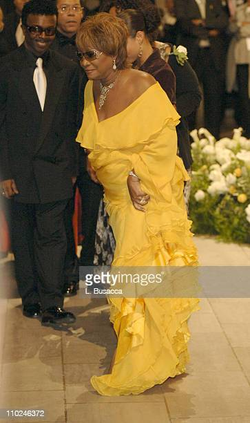 Patti LaBelle at the funeral service for Luther Vandross on Friday July 8 2005