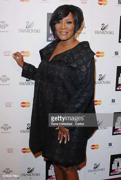 Patti Labelle attends Swarovski Fashion Rocks at the Royal Albert Hall in London