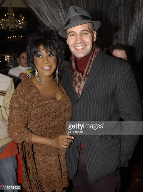 Patti LaBelle Billy Zane during Patti LaBelle Hosts Holiday Party to Launch Management Company at Estate in New York New York United States