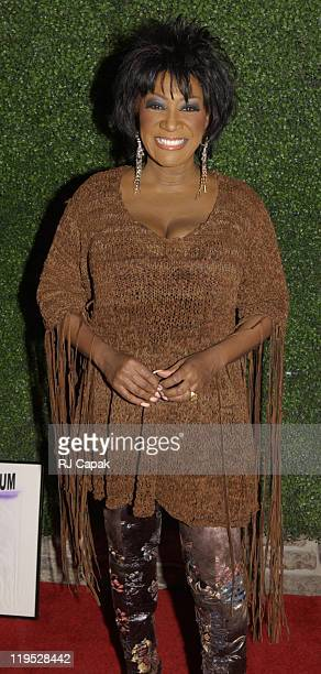 Patti LaBelle during Patti LaBelle Hosts Holiday Party to Launch Management Company at Estate in New York New York United States