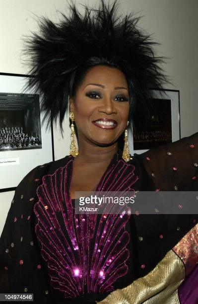 Patti LaBelle during The 12th Annual Rainforest Foundation Concert Backstage at Carnegie Hall in New York City New York United States