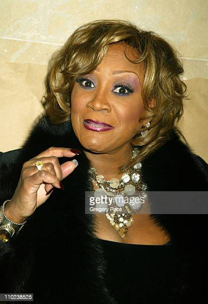 Patti LaBelle during The Woodsman New York Cit y Premiere Inside Arrivals at The Skirball Center in New York City New York United States