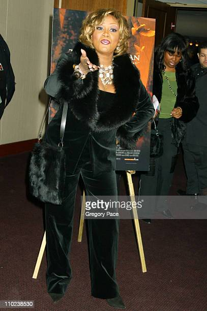 """Patti LaBelle during """"The Woodsman"""" New York Cit y Premiere - Inside Arrivals at The Skirball Center in New York City, New York, United States."""