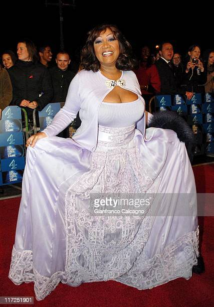 Patti LaBelle during UK Music Hall Of Fame 2006 Arrivals at Alexandra Palace in London Great Britain