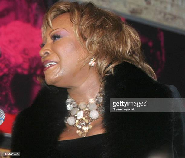 Patti LaBelle during Wyclef Jean's Yele Haiti Fundraiser at PM in New York United States