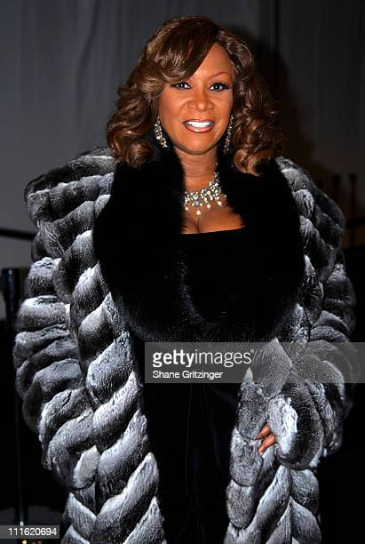 Patti Labelle *EXCLUSIVE'* during MercedesBenz Fashion Week Fall 2007 Seen Around Bryant Park Day 9 at Bryant Park in New York City New York United...