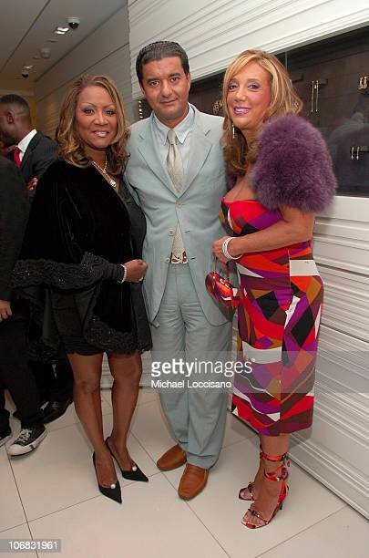 Patti LaBelle Jacob Arabo and Denise Rich during Jacob Co and Patti LaBelle Host a Private Shopping Event to Benefit The Red Cross/Hurricane Katrina...