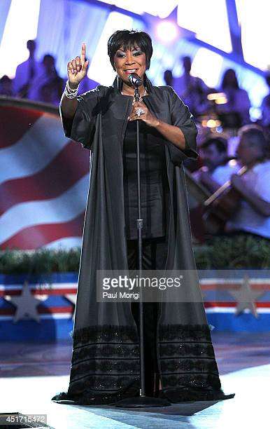 Patti LaBelle performs at PBS's 2014 A CAPITOL FOURTH at US Capitol West Lawn on July 4 2014 in Washington DC