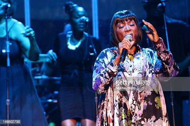 Patti Labelle performs at the Mann Center For Performing Arts on July 27 2012 in Philadelphia Pennsylvania