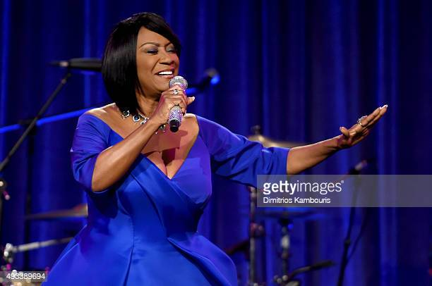 Patti LaBelle performs during Angel Ball 2015 hosted by Gabrielle's Angel Foundation at Cipriani Wall Street on October 19 2015 in New York City