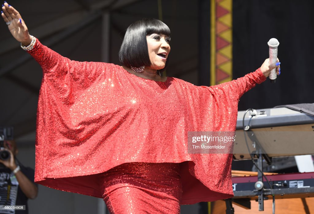 Patti LaBelle performs during the 2017 New Orleans Jazz & Heritage Festival at Fair Grounds Race Course on May 7, 2017 in New Orleans, Louisiana.