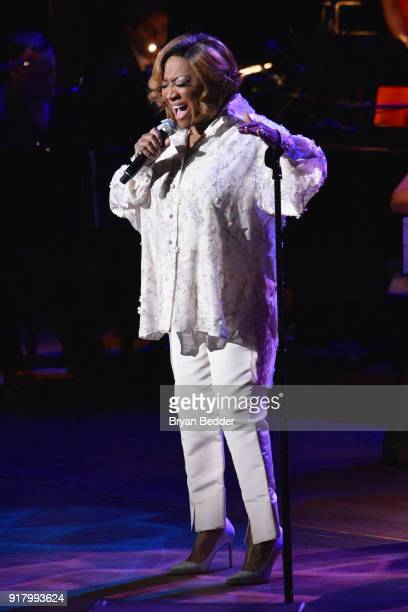 Patti LaBelle performs onstage at the Winter Gala at Lincoln Center at Alice Tully Hall on February 13 2018 in New York City
