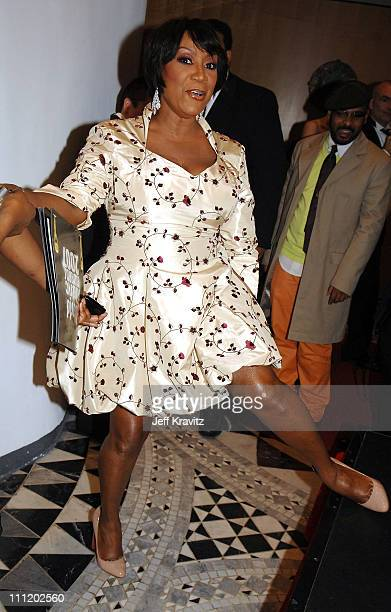 Patti LeBelle backstage during the 2007 World Music Awards held at the Monte Carlo Sporting Club on November 4 2007 in Monte Carlo Monaco