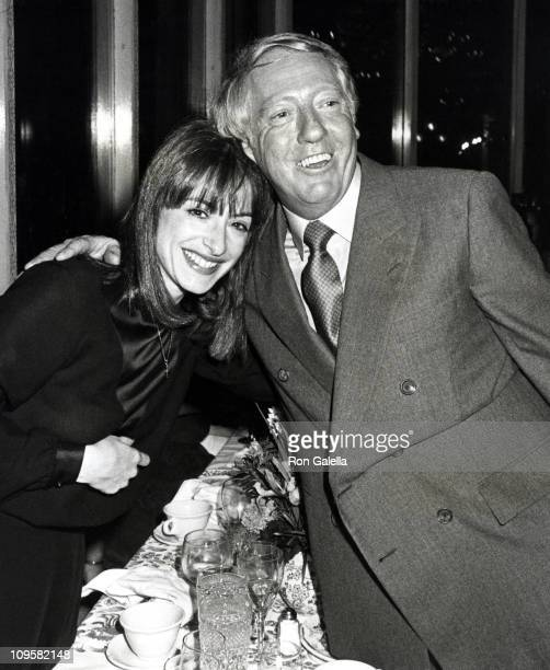 Patti LuPone and Robert Sitgwood during Times Square Opening Night Party October 141980 at Tavern on the Green in New York City New York United States