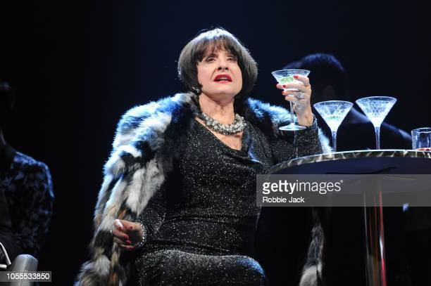 Patti Lupone as Joanne in Stephen Sondheim's Company directed by Marianne Elliott at The Gielgud Theatre on October 15 2018 in London England