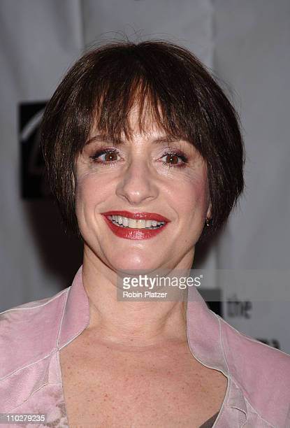 Patti LuPone during 72nd Annual Drama League Awards Ceremony and Luncheon Arrivals at The Marriott Marquis Hotel in New York City New York United...