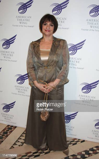 Patti LuPone during American Theatre Wing Spring Gala Honoring Matthew Broderick and Nathan Lane April 10 2006 at Ciprianis 42nd Street in New York...