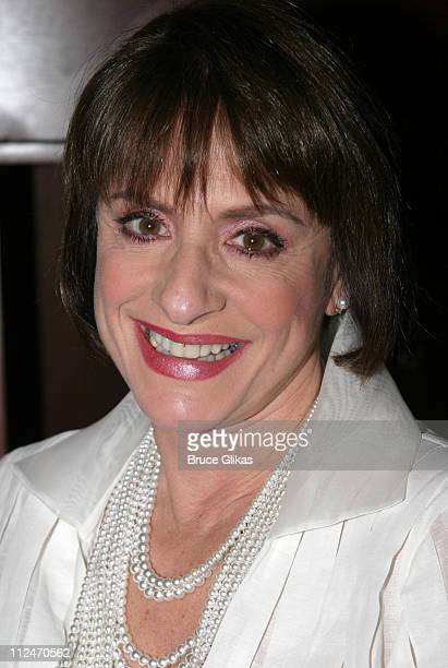 Patti LuPone during Patti Lupone in Lady with the Torch at Feinsteins at The Regency in New York NY United States