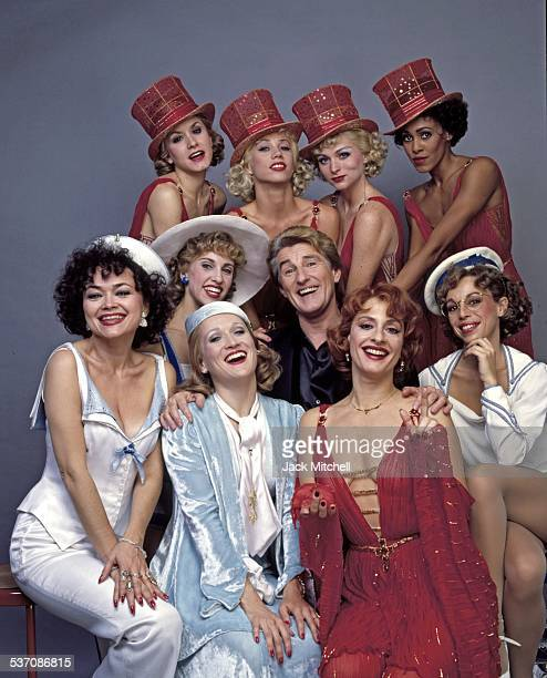 Patti LuPone Michael Smuin and the cast of 'Anything Goes' on Broadway in 1987