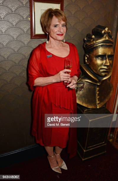 Patti LuPone poses in the press room during The Olivier Awards with Mastercard at Royal Albert Hall on April 8 2018 in London England