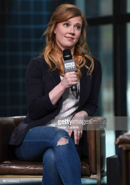 Patti Murin attends the Build Series to discuss her Broadway show 'Frozen' at Build Studio on May 10 2018 in New York City