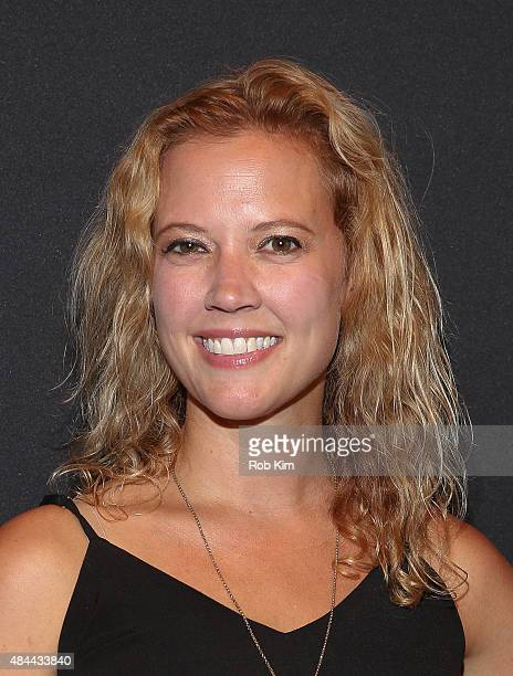 Patti Murin attends the New York Screening for Documentary Now at New World Stages on August 18 2015 in New York City