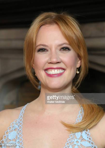 Patti Murin attends the press day for 'Frozen' The Broadway Musical on February 13 2018 at the Highline Hotel in New York City