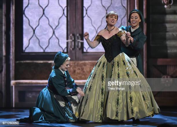 Patti Murin from the cast of Frozen performs onstage during the 72nd Annual Tony Awards at Radio City Music Hall on June 10 2018 in New York City