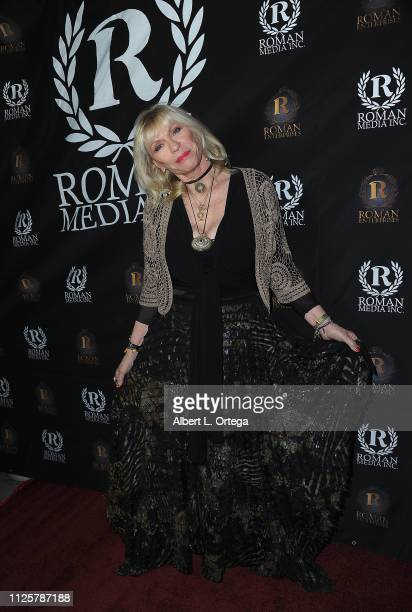 Patti Negri arrives for Roman Media's 5th Annual Hollywood Event A Celebration of Women and Diversity in Film held at St Felix on February 18 2019 in...
