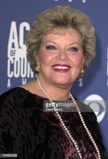 Patti Page during The 36th Annual Academy of Country Music Awards Arrivals at Universal Amphitheater in Universal City California United States