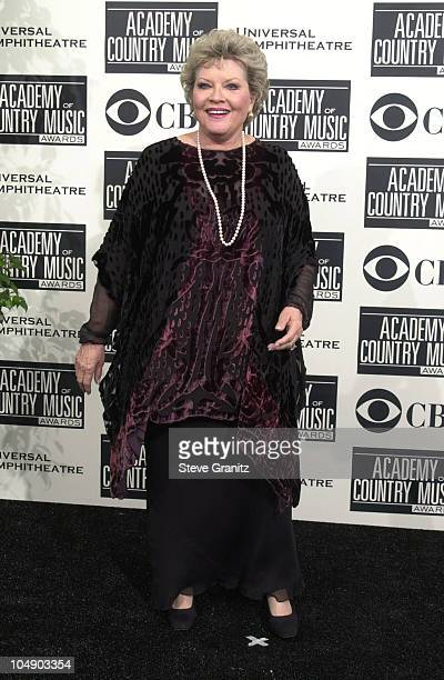 Patti Page during The 36th Annual Academy of Country Music Awards Press Room at Universal Amphitheater in Universal City California United States