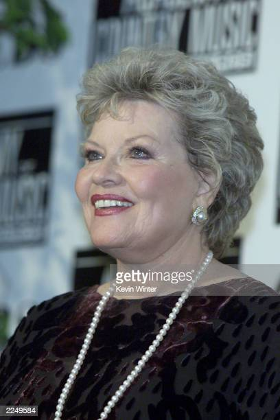 Patti Page was a presenter at the 36th Annual Academy of Country Music Awards at the Universal Amphitheatre in Los Angeles Ca 5/9/01 Photo by Kevin...