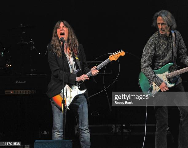 Patti Smith and Lenny Kaye perform during The Music Of The Who at Carnegie Hall on March 2 2010 in New York City