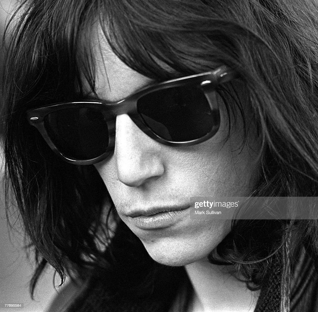 Patti Smith at Tropicana Motel in West Hollywood, CA 1975; Various Locations; Mark Sullivan 70's Rock Archive; West Hollywood; CA.