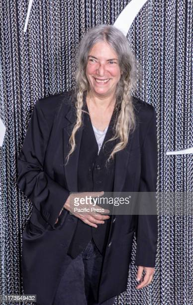 Patti Smith attends the New York premiere of The King at SVA Theater Manhattan