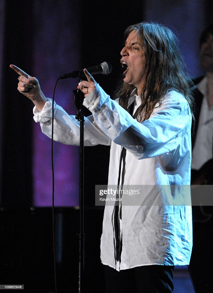 Patti Smith during 22nd Annual Rock and Roll Hall of Fame Induction Ceremony - Show at Waldorf Astoria in New York City, New York, United States.