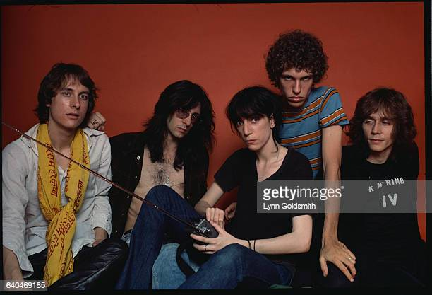 Lenny Kaye Ivan Kral Patti Smith Richard Sohl and Jay Daugherty