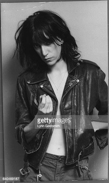 Patti Smith in Leather Jacket