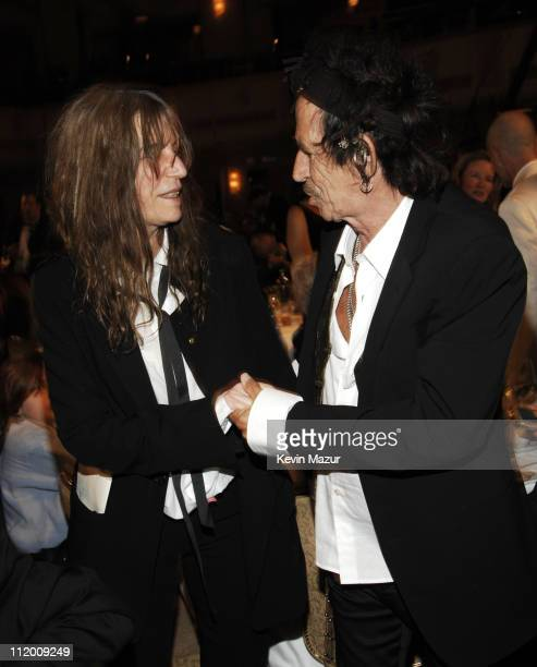 Patti Smith inductee and Keith Richards *EXCLUSIVE*