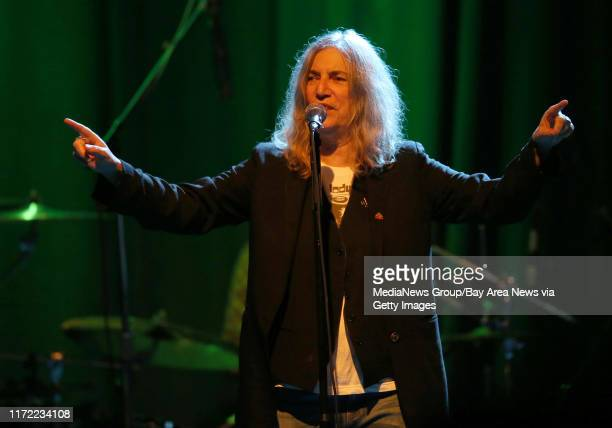 Patti Smith performs a sold-out show with her band at The Fillmore in San Francisco, Calif., on Wednesday, Jan. 21, 2015. Smith, also an artist and...