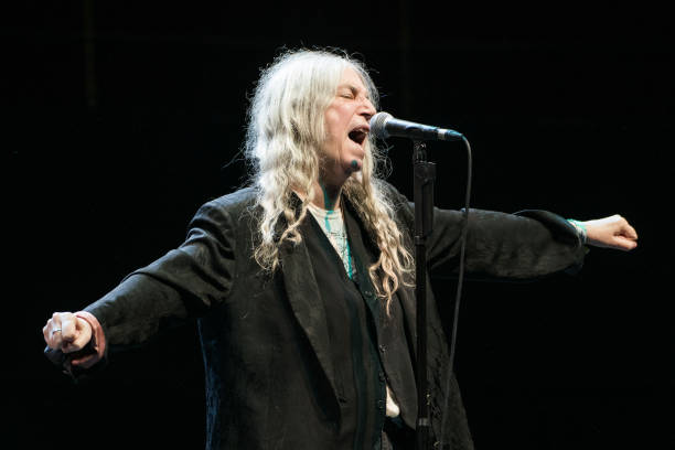 GBR: Patti Smith Performs At The Royal Albert Hall